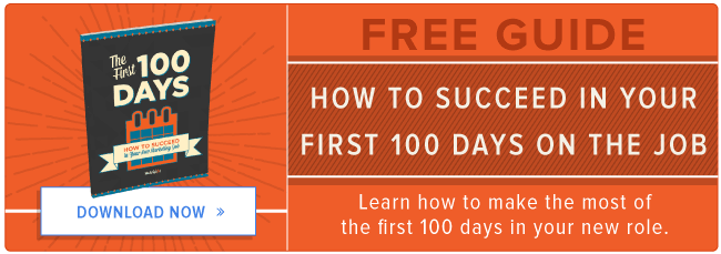 free guide to succeeding in your new job
