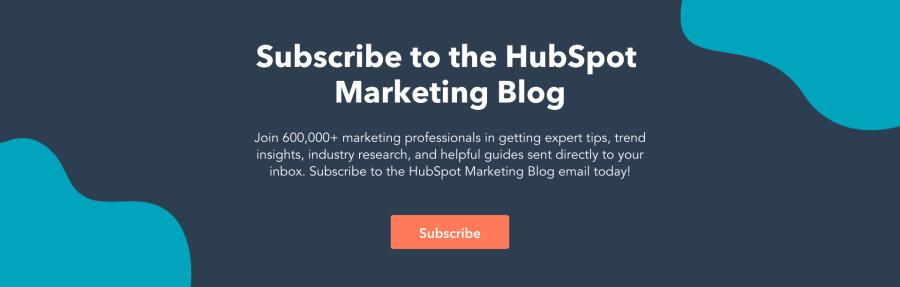 hubspot marketing blog