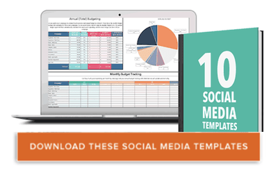 10 social media tracking, budgeting, and reporting templates