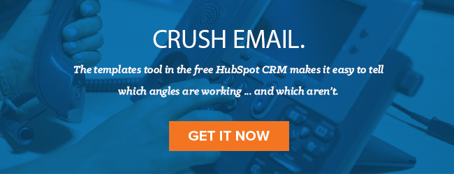 Email tool in HubSpot CRM