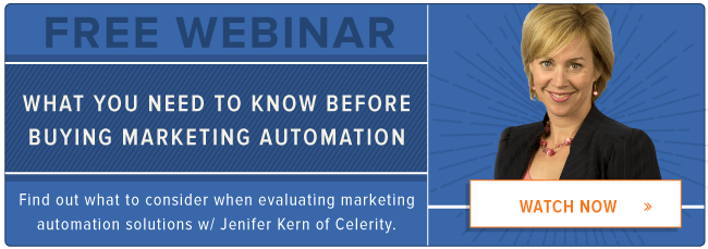 free webinar: marketing automation