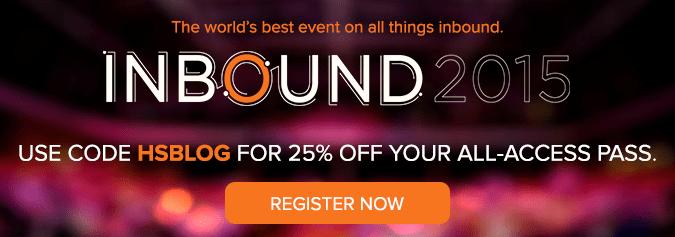 Register for INBOUND 2015!