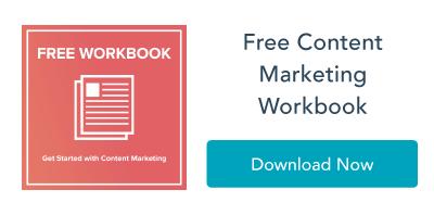 Free Content Marketing Workbook