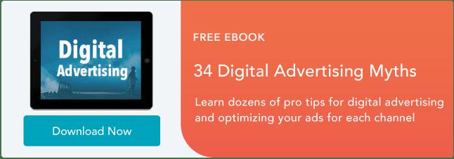 Digital advertising myths ebook