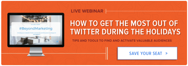 free webinar with HubSpot and Twitter