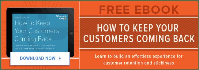 free customer retention ebook