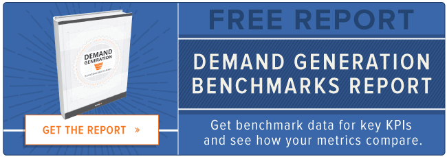 free demand generation benchmarks report