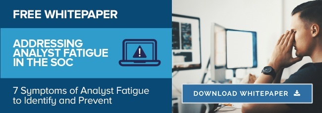 Download the Addressing Analyst Fatigue Whitepaper