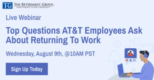 AT&T Healthcare & Pension Changes Webinar