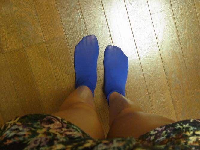 靴下屋のハイカット ナイロン靴下