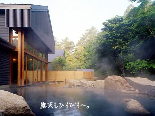 星野リゾート 軽井沢 トンボの湯
