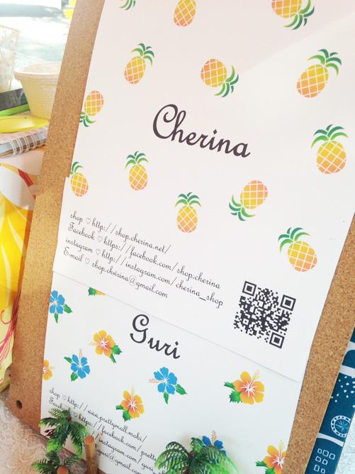 「Cherina」&「guri」