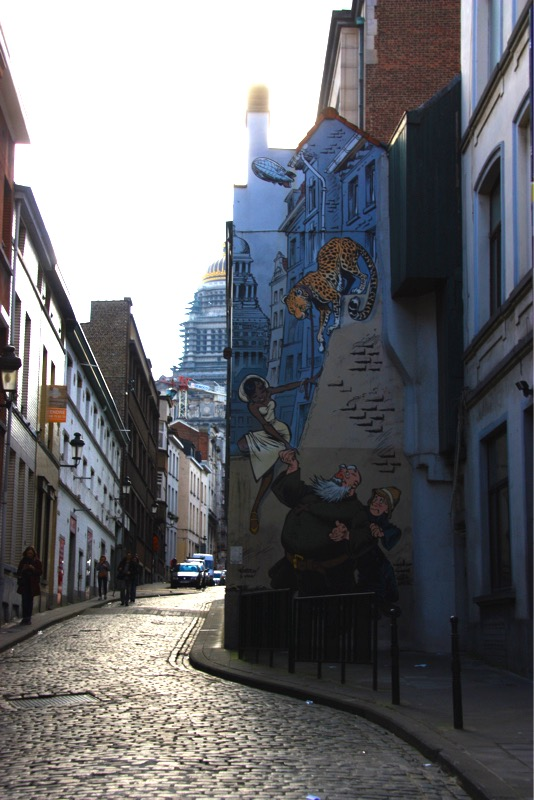 Perspective murale - Bruxelles - No Mad Land
