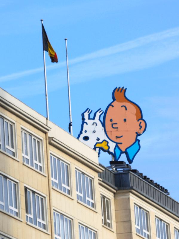 Tintin - Bruxelles - No Mad Land
