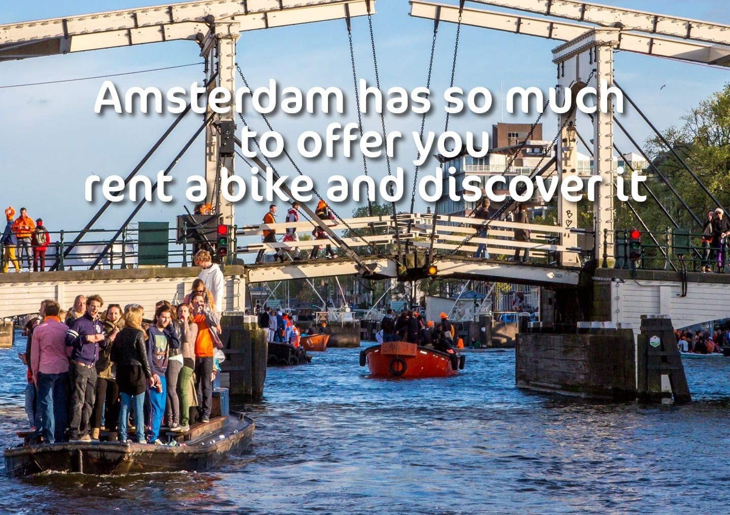 Amsterdam has so much to offer you rent a bike and discover it