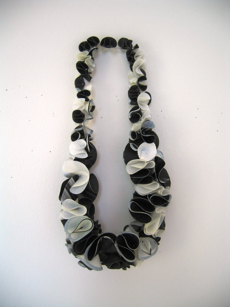 plastic bag necklace