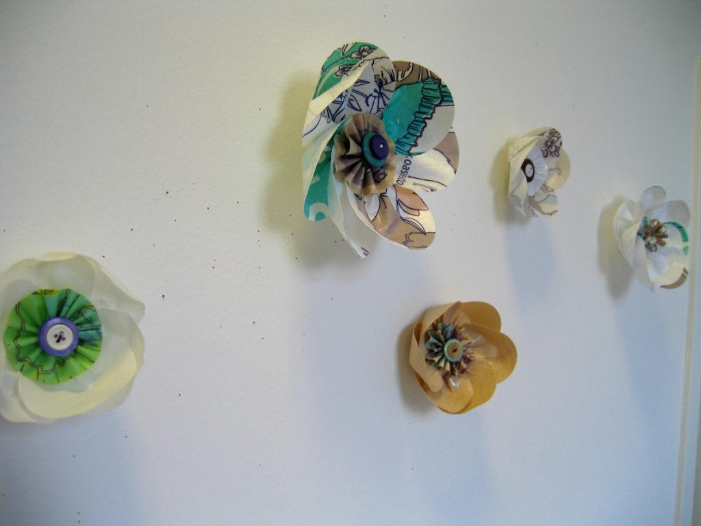 Oasis bag flowers