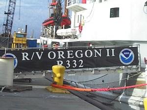 Oregon II at port