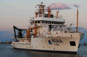 NOAA Ship Pisces. Photo credit: Richard Hall