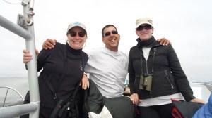 Jan Roletto, Jaime Jahncke, and Kirsten Lindquist