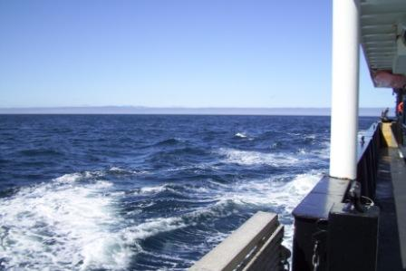 A nice sunny day in the Bering Sea!