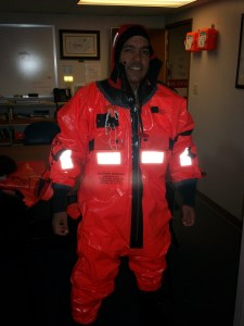 Me in my immersion suit
