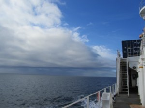 View of Arctic sky