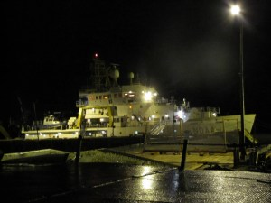 Oscar Dyson in port