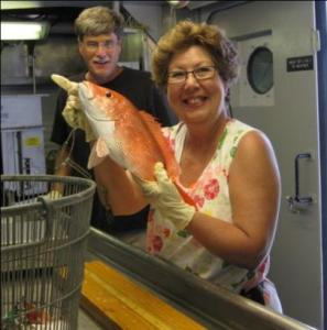Bagging a Red Snapper