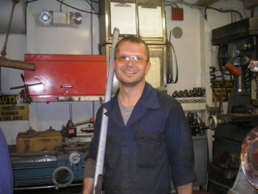 """Pat Maulden, Wiper, Engineering Department   """"I like being part of the solution.  If you're not part of the solution, you are part of the problem."""""""