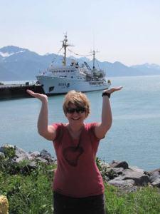 The Rainier's a heavy ship!