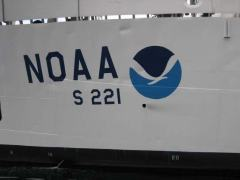 NOAA Ship Rainier's call numbers