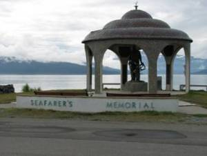 The Seafarer's Memorial at Homer Spit
