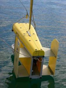 The Advanced Fisheries Towed Vehicle is a new submersible designed to use acoustic and optic sensors to verify sonar data and evaluate habitat.