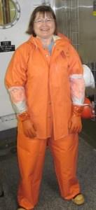 Me in my slime gear.