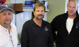 Principal Investigators, left to right: Chris Grech (MBARI), Robert Schwemmer (CINMS), and Bruce Terrell (NMSP).