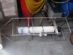 A CTD (Conductivity, Temperature, and Depth) sensor