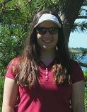 Alexa Carey, a student from Oregon, prepares to set sail aboard NOAA ship ALBATROSS IV.