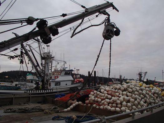 Kodiak fishing vessels