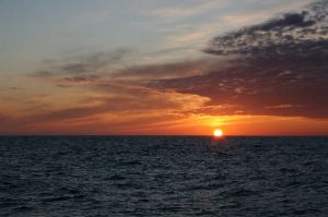 Bering Sea Sunset