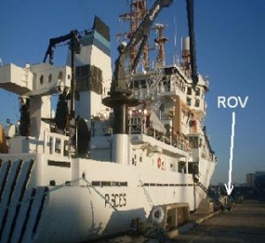 NOAA Ship Pisces in port