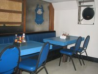 The Galley where the crew eat