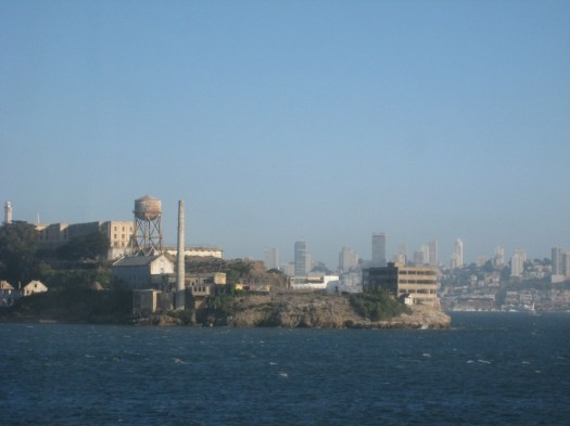 Alcatraz with San Francisco in the background