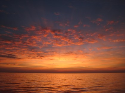Sunrise, Gulf of Mexico