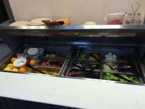 Salad bar. Photo by DJ Kast