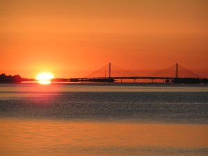 Sunrise on Indian River Bay