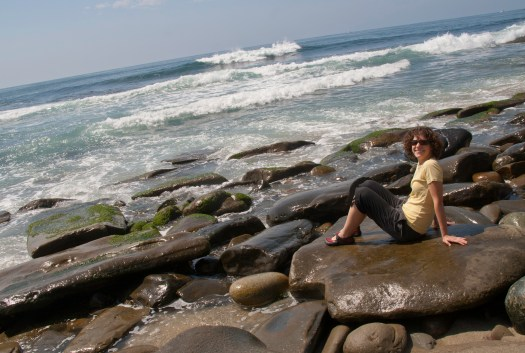 Enjoying the California Coast