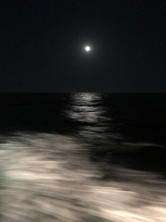 Picture doesn't do the full moon nights on the ship.