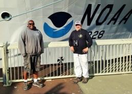 Nigel and Kip Pier 17 Photo Credit Bryan Thomas