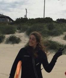 Jennifer in wet suit